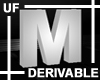 UF Derivable Letter M