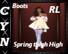 Spring Thigh High Boots