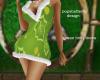 green holly dress
