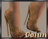 Golden Filagree Heel