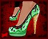 -A- Mint Chocolate Heels