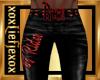 [L] DJ Rider RED Pants 1