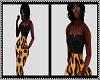 Silk Leopard BM Dress