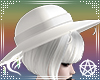 White Crystal Moon Hat