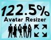 Avatar Scaler 122.5%