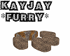 *KJ* Furry Paw Couch
