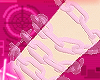 light pink jelly chain