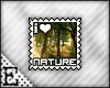 [E] I <3 Nature Stamp