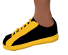 Dot Sneakers-Blk/Yellow
