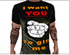I want YOU Gift Shirt M