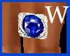 Mens left hand Sapphire