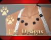 !LK! Paw chest pierce bl