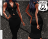 SD Vest n Skirt Black