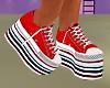 High Platform Sneakers~F