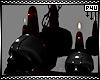 -P- Skull Chandelier Mx