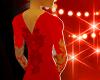 $ Red sexy dress