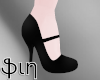 [ֆ] Boy Heels - Black
