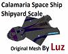 Calamaria Ship Small