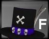 Skull Top Hat F