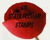 STATE FLOWER STAMP 8