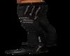 gothic zip pants