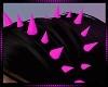 Spike Headband Pink