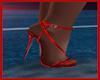 Red Silk Heels