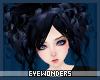 *E RavenBlack Cyndi Hair