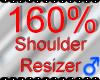 *M* Shoulder Resizer 160