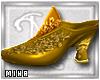 [M] Abira Slippers Gold