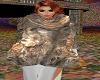 Viking Fur Poncho