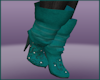 Fall Chic Teal Boots