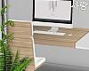 e Wood desk