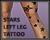 Stars Left Leg Tattoo