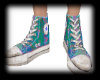 splat colorful converse