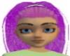 Streak Purple Ponytail