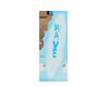 Mec bluewht surfboard