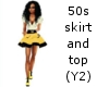 50s skirt (Y2)