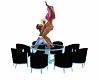 animated dance table