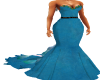 Blue Pearl Weeper Gown