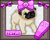 Baby Pug Badge
