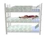 Blue Triple Bunk Bed