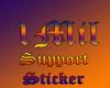 1Mill Support Sticker