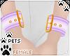 [Pets] Wristcuff | lilac