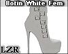 Bota  Botin White Fem