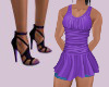(B) Purple Dress/SP