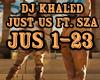 DJKhaled$JustUsfeatSZA