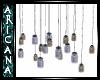 {Ari} Hanging Jar Lamps