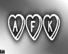  K  AFK Sign White