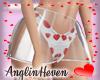 *A* Valentine Skirt Red